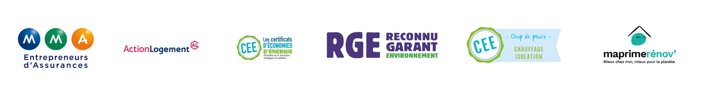 logo+rge+myprimerenov+action logement+cee+mma